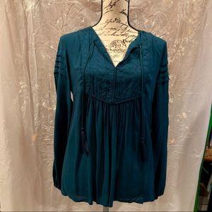 Turquoise tunic